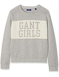 Gant TG S Crew Sweater, suéter para Niñas