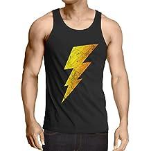 CottonCloud Sheldon Lightning Bolt camiseta de tirantes para hombre tank top