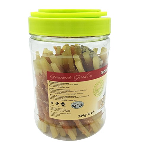 Pet-Cuisine-Dog-Training-Snacks-Puppy-Chews-Jerky-Treats-Chicken-Breast-Wrapped-Cod-Stix-340g
