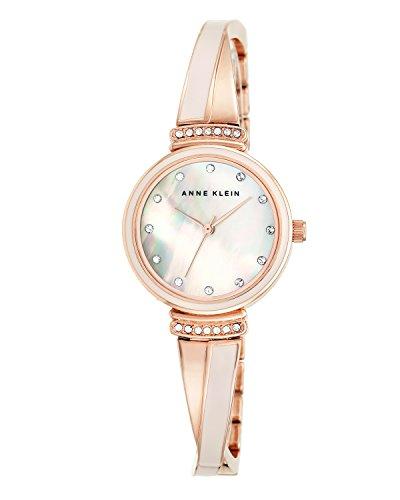 Reloj Anne Klein de cuarzo con esfera analógica y correa de aleación