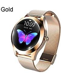 NUEVO KW10 Pulsera inteligente Correa de acero Reloj de pulsera Multi - Modo deportivo Reloj inteligente Reloj inteligente para mujeres,…