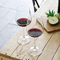 OCEAN 015A21 Madison Bordeaux Wine Glass, Pack of 6, Clear, W 85.0 x H 209.0 x D 80.0 mm, 600 ml, Glass