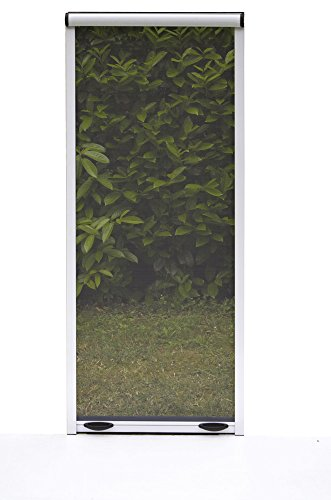 Verdelook zanzariera a rullo con frizione verticale per finestra 60x150, bronzo