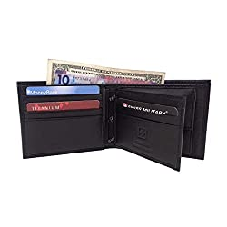 Swiss Military Black Mens Wallet (LW30)