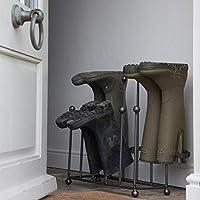 Garden Trading Farringdon Steel Welly Wellington Boot Holder Rack Holder WRME01