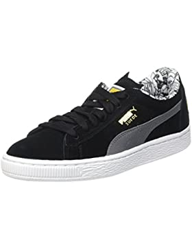 Puma Unisex-Kinder Suede Batman Low-Top