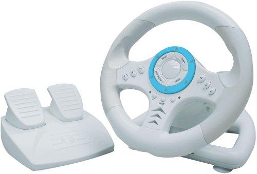 Nintendo Wii - TopDrive Lenkrad mit Pedalen (Lenkrad Pedalen Wii Mit)