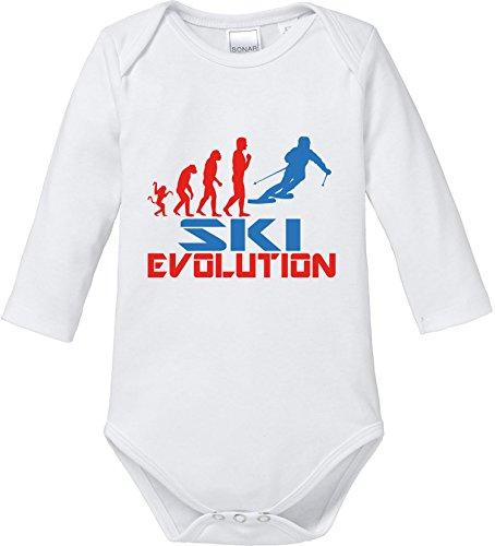EZYshirt® Ski Evolution Baby Body Longsleeve
