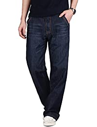 Demon&Hunter 809 Loose Fit Series Hombre Pantalones Vaqueros Relaxed Jeans