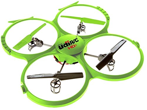 UDI 818A HD + RC Quadcopter Drone con cámara HD, función de...
