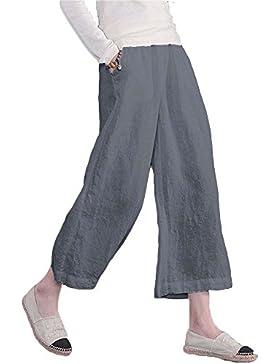 huateng Pantalones de algodón de