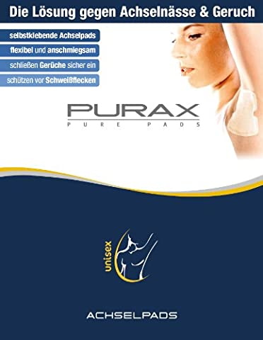 Purax Pure Pads, Achselpads (5 x 2 Stueck)