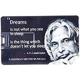 Lakshman Sruthi 16GB Designed Card Shape Pen Drive - B07F8XKX3F