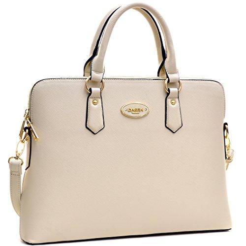 Dasein Schlanke Designer Handtasche Handtasche für Frauen Kk8903- Beige -