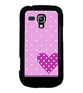 Printvisa Ultra Purple Heart 2D Hard Polycarbonate Designer Back Case Cover for Samsung Galax...