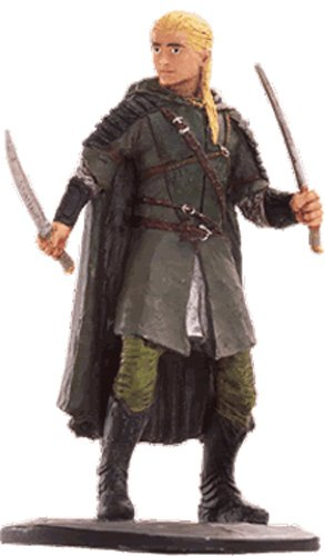 Lord of the Rings Señor de los Anillos Figurine Collection Nº 62 Legolas 1