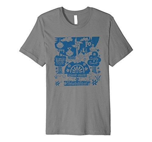 Teletubbies Doodle T-shirt - 5 colours - S to 3XL
