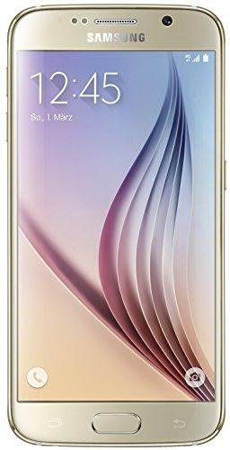 Samsung Galaxy S6 Smartphone (5,1 Zoll (12,9 cm) Touch-Display, 64 GB Speicher, Android 5.0) gold (Nur für Europäische SIM-Karte)