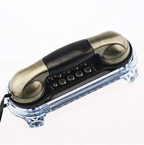 YDS SHOP Europäisches kreatives antikes Telefon-Wand-Mini - Verlängerungs-Anruf-klassisches Retro- Telefon verdrahtetes Telefon (Color : A3) -