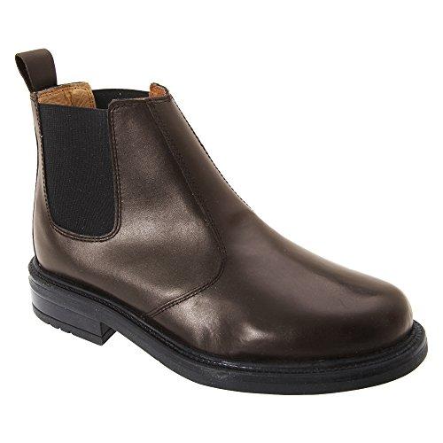 Roamers - Stivali in Pelle - Uomo Marrone