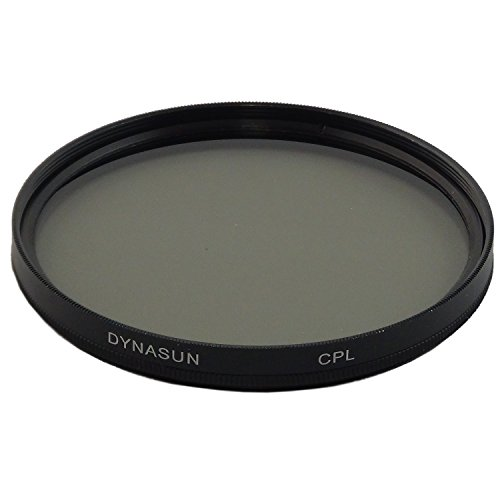 DynaSun Pro CPL 52mm Zirkular High Quality Slim Digital Pol Filter mit Schutzhülle für Gewinde (Pol-filter 52mm Nikon)