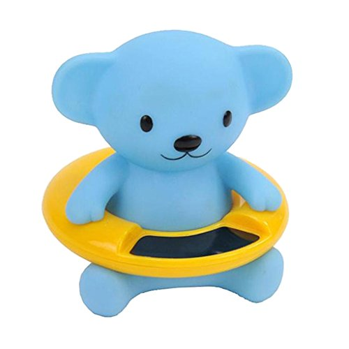Homyl Babywanne Badewanne tier Form digital Wassertemperatur Bereich: 30-34 ℃ - Blauer kleiner Bär -