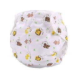Pawaca Baby Swim Diaper Infants Reuseable Adjustable Leakproof Swim Shorts Cover Waterproof Breathable Pants