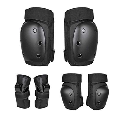 LYLTJ68 Kinder-Schutzausrüstung Set, Knieschützer Ellbogenschützer Handgelenkschutz 6-TLG Für Multi-Sport-Skateboard Inline-Rollschuhe Balance Car Cycling,L