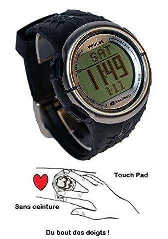 Montre Podomètre & Cardio Fréquence - AL5007HR Touch Pad -