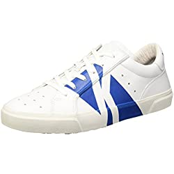 Bikkembergs Rubb-Er 668 L.Shoe M Leather, Scarpe Low-Top Uomo