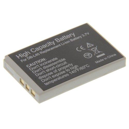 Power Li-Ion Akku Typ DB-L40 (kein Original) für Sanyo Xacti HD1A Xacti HD2 Xacti HD700 Xacti VPC-HD1 Xacti VPC-HD1A Xacti Hd1a