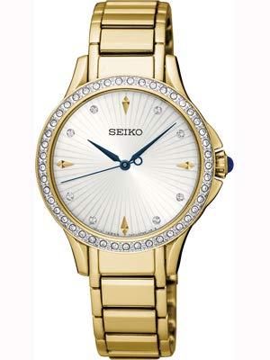 Seiko Femmes Analogique Quartz Montre avec Bracelet en Acier Inoxydable SRZ488P1
