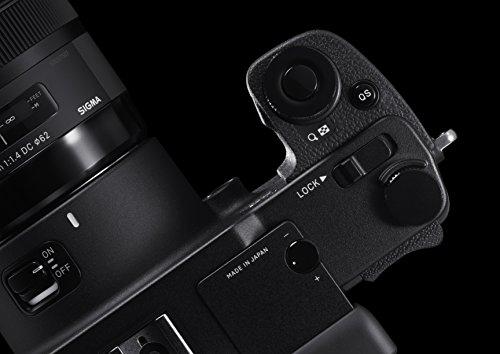 Sigma sd Quattro H spiegellose Systemkamera (45 Megapixel, 7,6 cm (3 Zoll) Display, SD-Kartenslot, SDHC-Kartenslot, SDXC-Kartenslot, Eye-Fi-Kartenslot) schwarz - 3