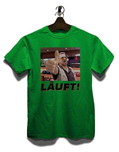 Laeuft 14 T-Shirt Grün