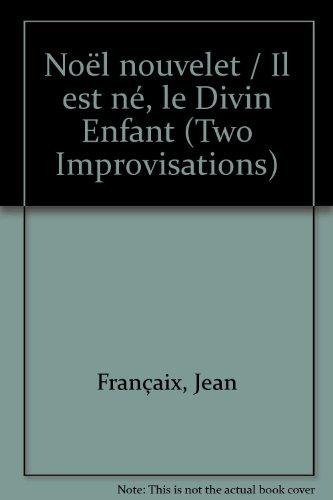 «Noël nouvelet» et «Il est né, le Divin Enfant»: Deux improvisations pour 12 violoncelles. 12 Violoncelli. Stimmensatz.