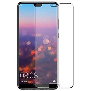First MART Honor Huawei P20 Pro Hammer Proof Unbreakable Nano Film Glass Armour Screen Protector Flexible Screen Protector Made with Mixture of Glass and Grade A Plastic (Transparent)
