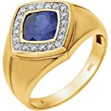 Blue Sapphire Ring For Men