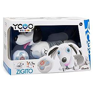 Rocco Giocattoli- Zigito Perro Robot, Multicolor, 88570