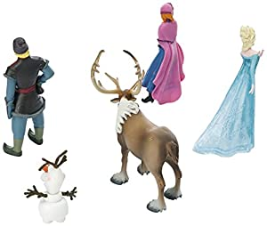 Bullyland - Figuras de juguete Frozen, Pack de 6 por Bullyland