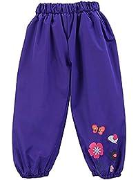 FAIRYRAIN - Pantalón impermeable - para niña azul azul marino