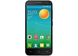 Alcatel 6050Y One Touch Idol 2 S Smartphone (12,7 cm (5 Zoll) Display, 8 Megapixel Kamera, Android Jelly Bean 4.3) schwarz
