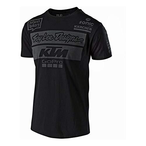 992a83d596733 Troy Lee Designs Tee Shirt Officiel Team - Noir - L