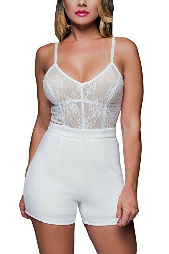 Cfanny - Combinaison - Femme Blanc