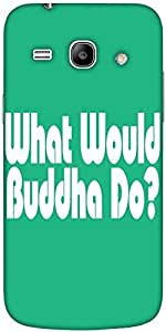 Snoogg What Would Buddha Do 2907 Hard Back Case Cover Shield For Samsung Gala...