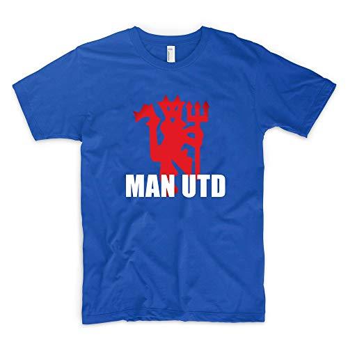 ecab3d877025 Manchester United Man Utd Devil Football Soccer Sports T-Shirt Mens Fashion  T Shirt Graphic