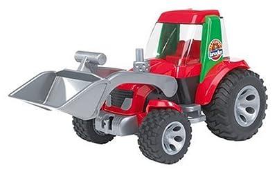 Bruder 20102 Roadmax - Tractor miniatura con pala de carga frontal por Bruder