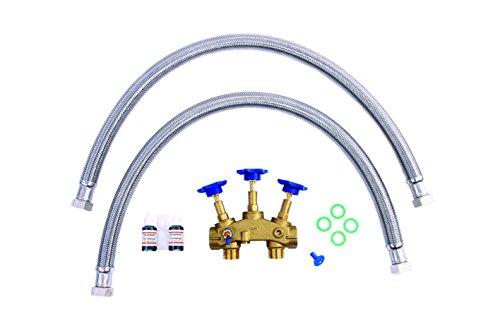 Anschluss-Set für Wasserenthärtungsanlagen