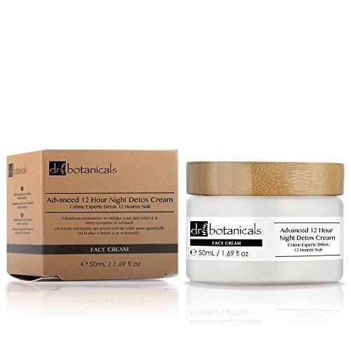 Dr Botanicals DBANDC - Crema detox avanzada de noche, 12 horas, 50 ml