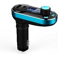 Lacaca dual porte usb wireless Bluetooth trasmettitore FM lettore MP3car kit caricabatterie per iPhone 6/6Plus/Samsung Galaxy S6/S6edge