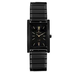 Franck Bella Slim Series Extra Slim Watch Specially Designed Analog Black Dial Mens Watch-FB0092B
